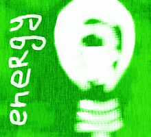 Energy, light bulb icon, eco concept  by kavunchik