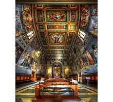 L'oratorio del Santissimo Crosifisso Photographic Print