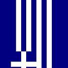 Greece Flag by pjwuebker