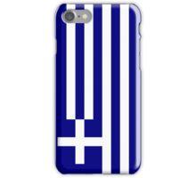 Greece Flag iPhone Case/Skin