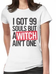 99 Souls tee Womens Fitted T-Shirt