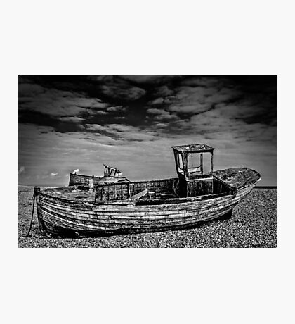 The boat graveyard Photographic Print