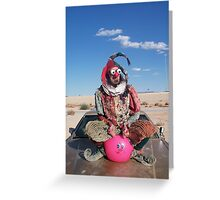 Space Hopping Fool Greeting Card