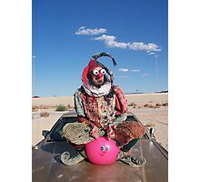 Space Hopping Fool Photographic Print