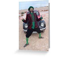 Jazzy Leprechaun Greeting Card
