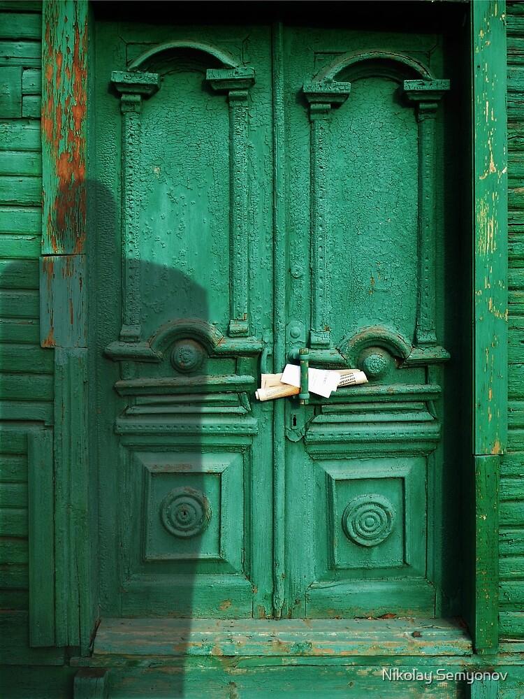 emerald door by Nikolay Semyonov