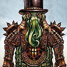 Lord Dreadnought Kaiju Monster by ChetArt