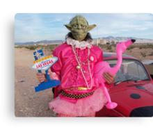 Yoda in Vegas Canvas Print