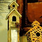 Birdhouse Still Life by AuntDot