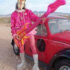 Giraffe Man by jollykangaroo