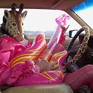 Giraffe Man plays guitar & drives by jollykangaroo