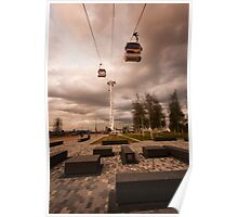 Emirates Airline Cable Car Poster