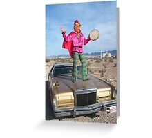 Rooster Man  Greeting Card