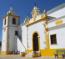 Church of Alvor by kkmarais