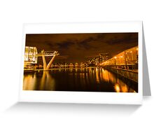 Emirates Airline Cable Car Greeting Card