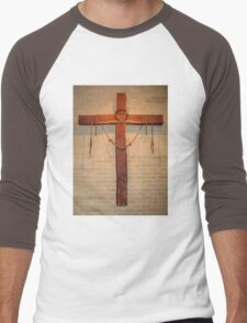 """The Instruments of Crucifixion"" by Carole-Anne Fooks Men's Baseball ¾ T-Shirt"