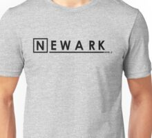 'Newark N.J.' (b) Unisex T-Shirt