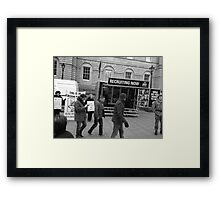 Who do you want to be? Framed Print