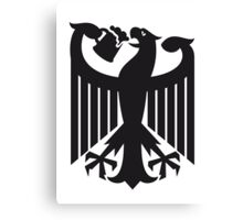 Germany coat of arms eagle beer  Canvas Print