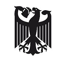 Germany coat of arms eagle beer  Photographic Print