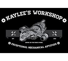 Kaylee's Workshop v2 Photographic Print