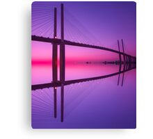 Queen Elizabeth 2nd Bridge Canvas Print