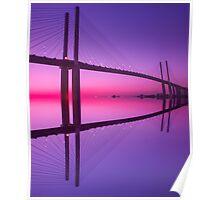 Queen Elizabeth 2nd Bridge Poster