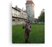 Court Jester in Estonia Canvas Print