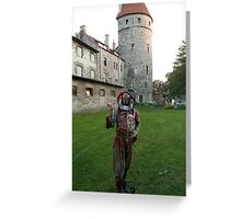 Court Jester in Estonia Greeting Card
