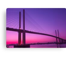 Queen Elizabeth Bridge Dartford Canvas Print