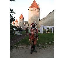 It's a Court Jester Photographic Print
