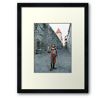 Medieval Fool Framed Print