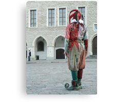 A Jester Canvas Print