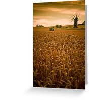 The Art of Farming,Horsecroft Farm,Bury St Edmunds Greeting Card