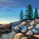 Lake Tahoe Tumble by Janet Glatz
