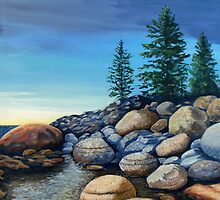 Lake Tahoe Tumble by Janet Glatz