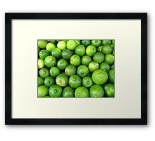 Time for Lime-aid! Framed Print