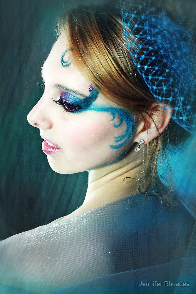 Blue Bird by Jennifer Rhoades