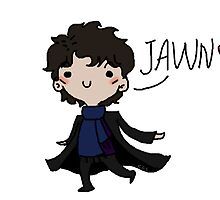 Sherlock is happy to see Jawn by Carriz96
