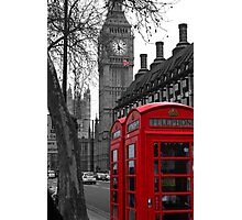 London - Red Photographic Print