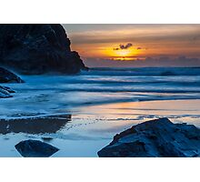 Bedruthan Steps Photographic Print