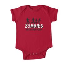 Zombies hate fastfood One Piece - Short Sleeve