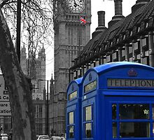 London - Blue by stevebluey