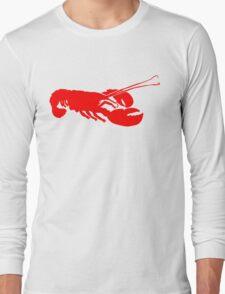 Lobster Outline Long Sleeve T-Shirt