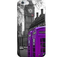 London - Purple iPhone Case/Skin