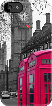 London - Pink by stevebluey