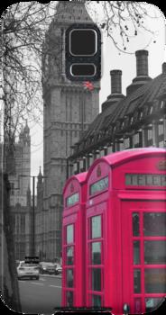 London - Pink by stevebluey