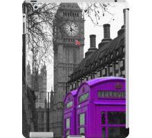 London - Purple iPad Case/Skin