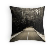 *Where will this road take me...? Throw Pillow