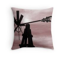 Wind mill Throw Pillow